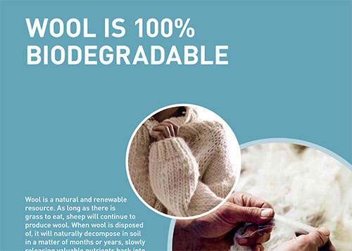 Wool facts | Wool is 100% biodegradable