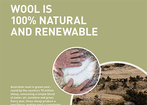 Wool facts | Wool is 100% natural and renewable