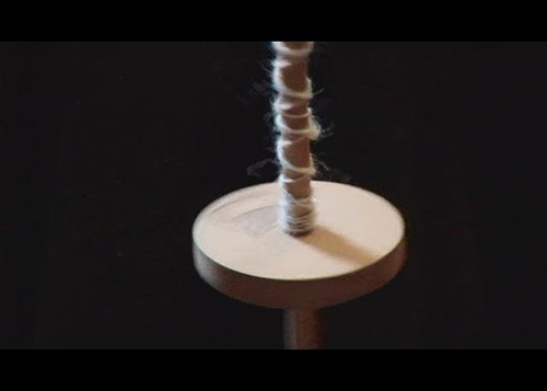 How To Spin Yarn Using A Drop Spindle